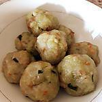 recette Niouk yen/ boulettes chouchou(boulettes vapeur de chayotte/christophine)