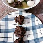 recette Boulettes de viande vapeur au gingembre (boulette laviane île Maurice)