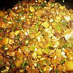 recette Courgettes au saté