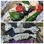 recette Poisson cuit au feu de bois