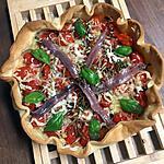 recette Tarte aux tomates cerises et herbes aromatiques