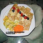 recette Crêpes farcies aux miettes de thon