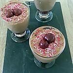 recette mousse chocolat mascarpone griottes