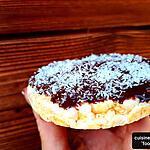 recette Galettes de maïs chocolat-coco ( un encas sain prêt en 5min et sans gluten !..)