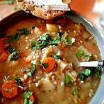 recette Potée sans gluten( légumes, lentilles, sarrasin)