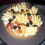 recette Tarte palet breton aux fruits