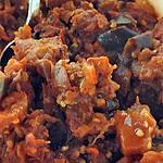 recette Riste d'Aubergines au Muscat de Beaumes