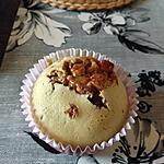 recette Muffins cœur coulant au snickers