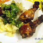 recette Pilons de poulets au paprikas à l'actifry