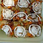 recette Gratin de quinoa aux petits légumes