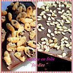 recette Tablettes de chocolat au sésame et façon crunch ( méthode très facile sans tempérage)