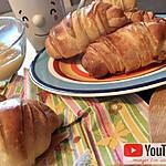 recette Croissants au Lait Ribot ou kefir