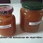 recette Confiture aux mirabelles et cannelle
