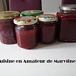 recette Confiture de cerises et pommes