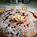recette Gâteau aux pommes et fleur d'oranger