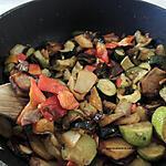 recette Poêlée de légumes .
