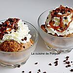 recette Glace aux 2 ingrédients confiture de lait cacao noisettes et crème fraîche, sans sorbetière
