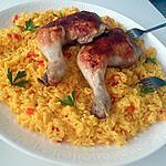 recette Riz jaune et poulet