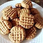 recette Biscuits au beurre de cacahuètes (sans oeufs)
