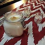 recette yaourt maison , nectarine , dattes sans yaourtière