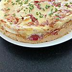 recette omelette soufflée au four tomates bacon