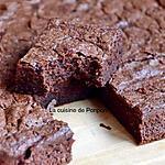recette Fondant au chocolat sans gluten, sans glucose, sans lactose et sans fructose