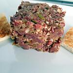 recette Tartare de bœuf classique
