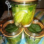 recette Concombres saumurés à l'estragon