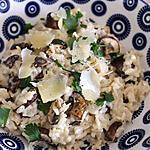 recette Risotto de Champignon et au Chaource