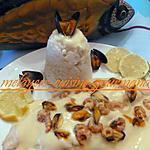 recette pangas sauce au beurre aux moules et crevettes