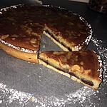 recette Tarte amande confiture de framboise