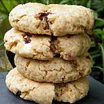 recette Ooo Cookies fraises , carambar et chocolat blanc ooO