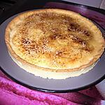 recette Tarte a la crème brûlée