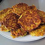 recette Paillassons P de terre courgette