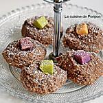 recette Amaretti à la pâte à tartiner au chocolat, noisette, citron et coriandre
