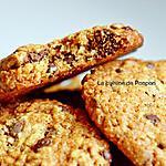 recette Cookies aux flocons d'avoine et pépites de chocolat