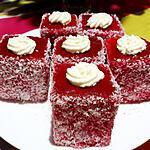 recette Jam francis (Lamington cake à la mauricienne)