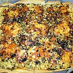 recette Courgette en pizza XL