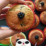 recette Muffins aux Mures