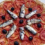 recette tarte fine tomates et sardines