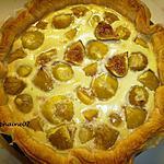 recette La tarte aux figues fraîches