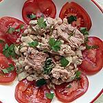 recette salade haricot blanc au thon