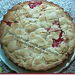 recette Tarte aux fraises double pâte