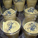 recette Crème toute douce carotte, gingembre & curry.
