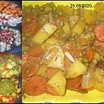 recette Jardinière de légumes.