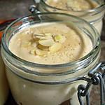 recette Mousse de fromage saveur vanille et petit Lu à la crème de marron.