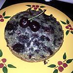recette Gâteau a la mûre sauvage et aux cerises