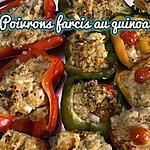 recette POIVRONS FARCIS AU QUINOA