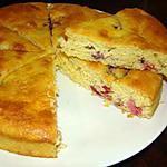 Biscuit tchèque aux cerises