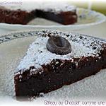 recette Gâteau au chocolat comme une mousse